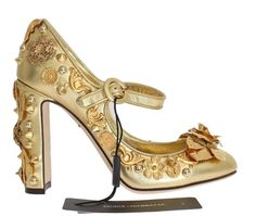 Check out the new Gold Leather Flor.... http://gethuda.co/products/gold-leather-floral-studded-pumps?utm_campaign=social_autopilot&utm_source=pin&utm_medium=pin