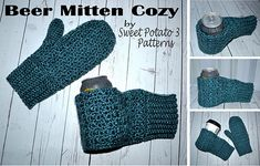 Ravelry: Beer Mitten Cozy from My Sweet Potato 3 Patterns