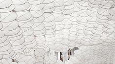 Jacob Hashimoto's Ephemeral Installations | Trendland: Fashion Blog & Trend Magazine