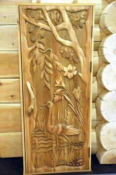 ДЕРЕВЯННАЯ ДВЕРЬ ИЗ КЕДРА, wood carving door .