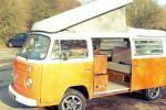 though this one is English it is the same color and style as the one we have had for years. Ours is a 1972 which we purchased in the and we had many fun trips with the kids growing up. Vw Bus, Volkswagen, Motorhome Hire, Campervan Rental, Road Trip Adventure, Surrey, Camper Van, England, Gypsy Style