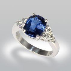 bague saphir, bague de fiancaille, bague joaillerie, saphir, diamants