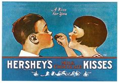 Chocolate History: Who Invented Chocolate? - Facts About Chocolate Vintage Candy, Vintage Labels, Vintage Posters, Vintage Images, Vintage Art, Hershey Kisses Chocolate, Hershey Candy, Who Invented Chocolate, Speakeasy Party