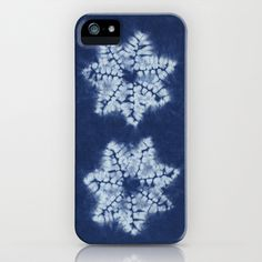 Shibori five iPhone & iPod Case by Jill Byers