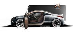 Peugeot RCZ R Concept Makes International Debut At Goodwood