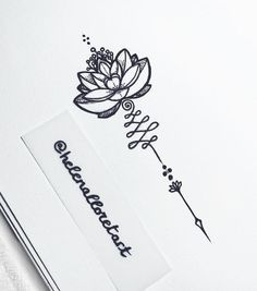 Image result for tattoo arrow flowers moon