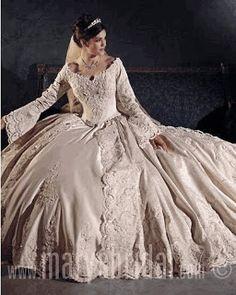 Vestidos de novia de epoca
