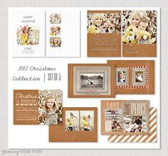 Yummy Christmas Collection 2012  Set of 5 5x7 by YummyDesignStudio, $15.00