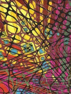 MASHUP Adventure: A Kaleidoscopia Coloring Book: Technorganic Patterns: Kendall Bohn, August Stewart Johnston: 9781482520705: Amazon.com: Books