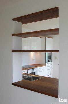 e bereich mit durchreiche k che ideas p pinterest kuchen offene k che und essen. Black Bedroom Furniture Sets. Home Design Ideas