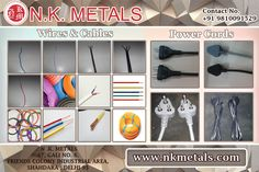 Pvc Isolated Wires, Cables and Power cords By NK Metals