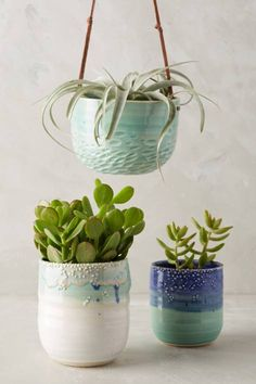 Sea Bubbles Hanging Planter by Unurth #anthrofave #anthropologie