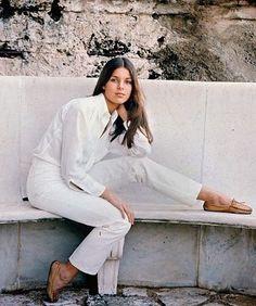 Caroline of Monaco Grace Kelly, Patricia Kelly, White Jeans Outfit, White Pants, White Denim, Garance, Monaco Royal Family, Glamour, Album