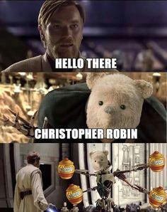 Winnie the Dooku Obi Wan, Funny Jokes, Hilarious, Prequel Memes, Star Wars Jokes, Love Stars, Disney Memes, Cultura Pop, Star Wars Art