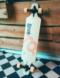 Goat Longboards - - Flex reactive for carving and fun. The Goat Longboards is built from a sandwich of bamboo and two layers of fiberglass fini Longboards, Goats, Zero, Carving, Fun, Wood Carvings, Long Boarding, Sculptures, Printmaking