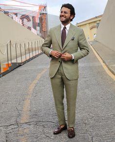 Irish linen for Pitti 90 - Day 2  @sastreriaserna flawless suit, @velascamilano…