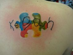 small autism tattoos - Google Search
