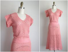 Hey, I found this really awesome Etsy listing at https://www.etsy.com/listing/174640412/1930s-dress-vintage-1930s-crochet-dress