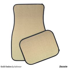 Gold Ombre Car Floor Mat