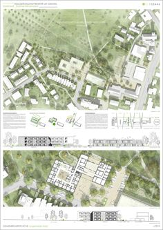 prize for common space in the Junghalde Nord . competitionl Preis Gemeinbedarfsfläche Jungerhalde Nord…competitionline prize for common space in the Junghalde Nord … competitionline - Cultural Architecture, Masterplan Architecture, Architecture Visualization, Architecture Board, Education Architecture, Commercial Architecture, Landscape Architecture, Architecture Courtyard, Architecture People