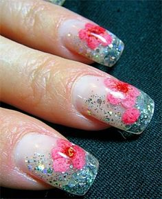 Nail Art Quality: Best Quality Flower Designs Nail Art