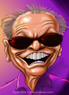 Jack Nicholson, caricature