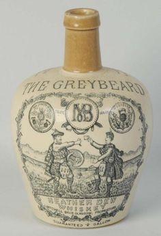 """The Greybeard"" Scottish Whiskey Jug"