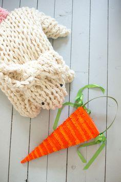 Giant Arm Knit Bunny Kit - Large