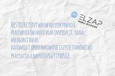 Poniedziałkowa ciekawostka od Elzap 😁  #elzap #meble #praca  #biuro #ciekawostka #efektywność Social Security, Personalized Items, Cards, Maps, Playing Cards