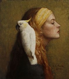 Study of Profiles   Louise Fenne   Ann Long Fine Art - Charleston, SC