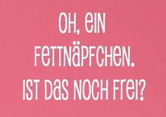 #fettnäpfchen