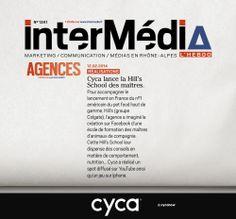 #cyca dans le magazine Intermedia ce matin / Merci à Michel Texier / #intermedia #cycanow