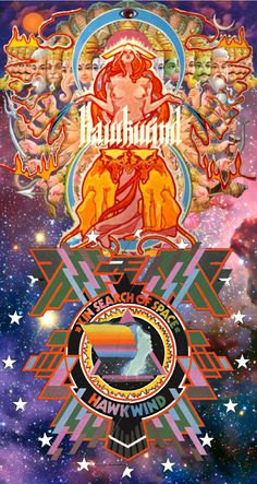 Hawkwind, Artwork #Acid Alarm Clock