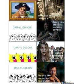 Daryl Dixon is my hero <3