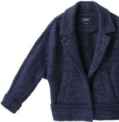 Isabel Marant ioline boiled wool jacket