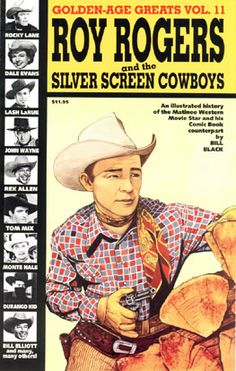 The biggest collection of movie cowboys in one book! Western Comics, Comic Book Covers, Comic Books, Tex Ritter, Andy Devine, Dale Evans, Alex Toth, John Buscema, Frank Frazetta