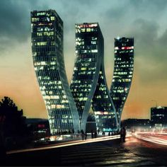 Prague - the W Tower  For more #CRE, join us on Facebook https://www.facebook.com/CPECityPages