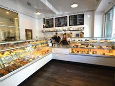 The store front of 54 Mint Il Forno makes their own famous Roman-style pizza, paninis,  quiche and pastries.