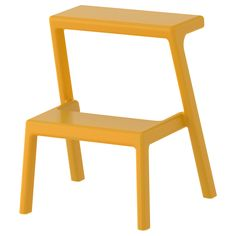 IKEA - MÄSTERBY, Step stool, Stackable so you can keep several on hand without taking more space.The stool is lightweight and easy to lift and move, yet very sturdy and stable.No assembly or screws to re-tighten, since the stool is molded in one piece.