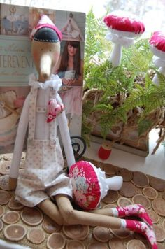 """Tilda Pinocchio: a master class on sewing doll from the book """"Tildas Vintereventyr"""""""