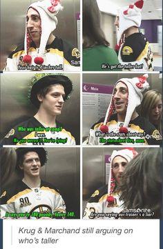 Hockey players.... Stats lie, apparently.  Hahaha