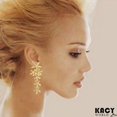 KACY'S Full Rhinestone Long earrings Just for INR 299/- Free Shipping, Cod Available Shop here : http://kacyworld.com/product/full-rhinestone-long-earrings/