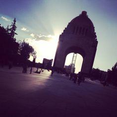 revolution monument México city