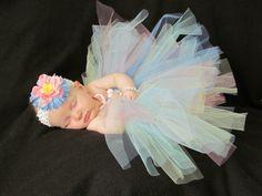 Newborn  12 month tutu dress and hair accessory by EllaGracesPlace, $30.00