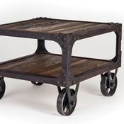 Roller Cart End Table