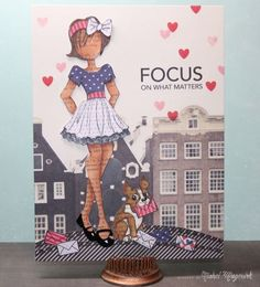 PAPER DOLL ART JOURNALING WITH JULIE NUTTING DOLL STAMPS & SIMON SAYS STAMP CARD KIT LEFTOVERS