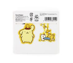 Purin Magnetic Bookmark: Friends