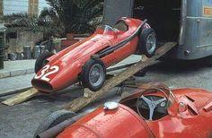 1957 Monaco Grand Prix : Juan Manuel Fangio's Maserati 250F. (ph: Twitter)