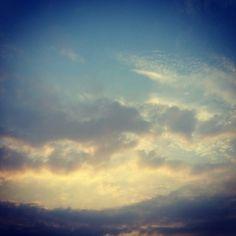 #blue #orange #yellow #heaven
