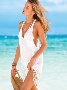 Beach Sexy Tassel Cover-up on shopstyle.com